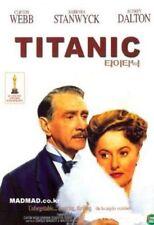 Titanic (1953) Clifton Webb, Barbara Stanwyck DVD *NEW