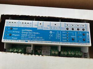Lutron Energy Saver Node 4 Zone 10a Relay Switch Module Fixture controller 4T10D