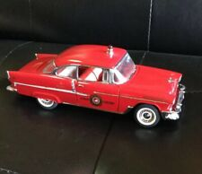 Franklin Mint Precision 1955 Fire Chief Bel Air model excellent conditionW/ Box