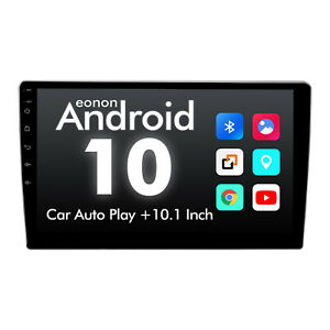 """2DIN 10.1"""" Android 10 Car Audio In-Dash Units Gps Radio Stereo DSP CarPlay WiFi"""
