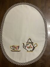 Table Napkin Table Placemat With Tea Kettle