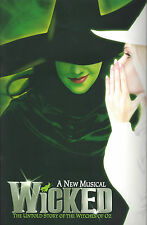 "Idina Menzel ""WICKED"" Stephen Schwartz 2006 London Opening Souvenir Program"