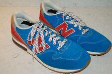New Balance 996 Retro BLUE & RED Revlite Running Sneakers Men's Size 10 MRL996AT