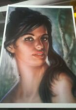 J H Lynch 'tina' beautiful quality print retro kitsch vintage Tretchikoff