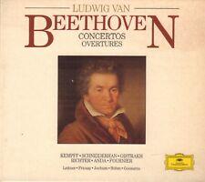 LUDWIG VAN BEETHOVEN – CONCERTOS, OVERTURES (CLASSICAL 5-CD BOX DGG)