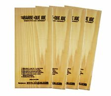 (2) BARBE QUE JOE Quality Grill Cedar Planks Outdoor Grilling Planks BBQ JOE NEW
