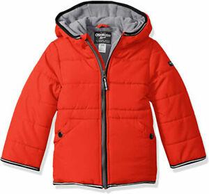 Osh Kosh B'gosh Boys Red Jacket Size 2T 3T 4T 4 5/6 7