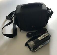 Sony Video Camera Recorder HandyCam DCR-SX85 With Extra Battery & Bag Black