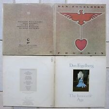 Dan Fogelberg - 2 x  ‎→ The Innocent Age 2-LP  & → Phoenix LP Epic 83317 & 88533