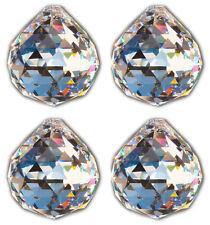 4x Kristallkugel 20mm Bleikristallglas Fensterdeko Regenbogenkristall Feng Shui
