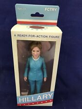 HILLARY RODHAM CLINTON A READY FOR ACTION FIGURE FCTRY PRESIDENTIAL CANDIDATE