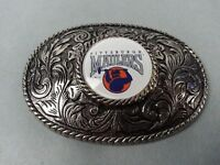 Vintage 1984 Pittsburg Maulers USFL Football Team Belt Buckle