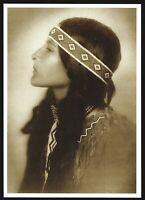 ⫸ 920 Postcard LITTLE BIRD Proud Heritage, Piegan, 1915 Photo Roland Reed – NEW