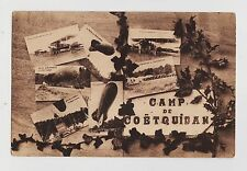 Camp de Coetquidan,France,7 Vignettes of Balloons & Bi-Planes,World War I,c.1914