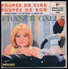 FRANCE GALL - CD 4 titres - Reproduction à l'identique du vinyle original - RARE