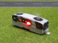 Spur N TT Wohnwagen Vollbrand Brennend 12V LED Feuer 1:160 Sonderanfertigung #46