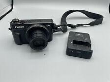Canon PowerShot G7 X Mark II 20.1 MP Digital Camera - Black WiFi