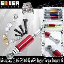 for 2003-2006 Nissan 350Z Engine Damper Kit RED