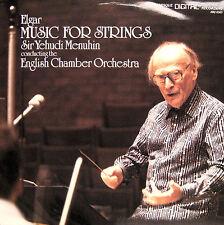 ABQ 6563 Elgar Music For Strings Yehudi Menuhin [1986] NEAR MINT Arabesque