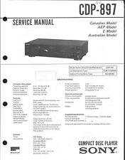 Sony Original Service Manual für CDP-897