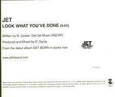 JET Look What You've Done CD-single 2004 Australia rock