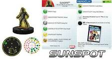 SUNSPOT #018 #18 Wolverine and the X-Men Marvel Heroclix