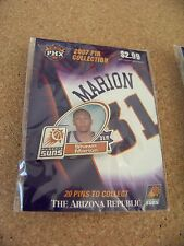 2007 Phoenix Suns lapel pin NBA Shawn Marion