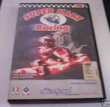 SUPER KART RACING gioco pc originale corse ITA PAL game