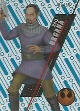 "Star Wars High Tek 2016: SW-55 ""Bail Organa"" Blue Parallel Base Card #03/99"