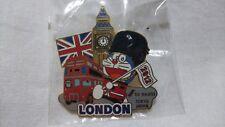 DORAEMON Pin Badge London Olympic 2012 TV asahi media Japan