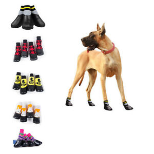 Boot Pet Dog Shoes Waterproof Socks Non-Slip Rain Snow Injured Paws Protective