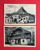2 x Anlass AK DRESDEN 1911 Intern. Hygiene Ausstellung Pavillon  ( 46358