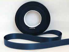 3mm X 50m Cream Double Side Satin Ribbon Weddings Favours Crafts 5060222452303 Midnight Blue