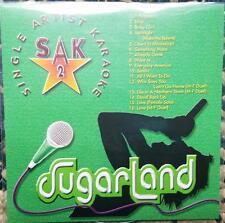 SUGARLAND KARAOKE CDG DISC SAK SINGER ARTIST SERIES COUNTRY CD+G MUSIC CD