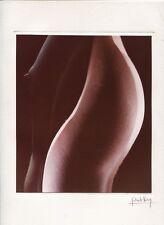 Photo Patrick Véron - Nu Surimpression - Tirage couleur 1970's -