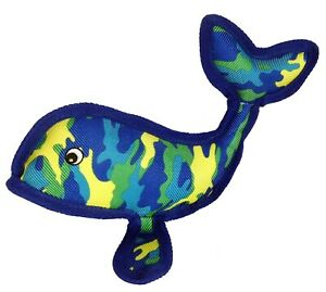 "14"" Petlou Seawarrior Whale Dog Toy"