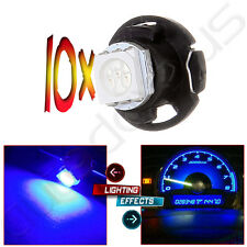10Pcs Blue T5 Neo Wedge 1-5050 SMD led Bulbs 12mm Gauge Dashboard Light Lamp US
