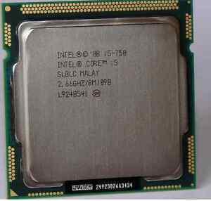 Lot (40 units) of Intel CPU Core i5-750 2.66GHZ/8M LGA 1156