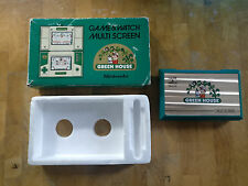***GREEN HOUSE*** NINTENDO 1982 GAME & WATCH - GH -54 boxed!!- include batteries