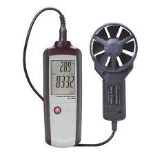 CFM CMM Wind Speed Backlight Airflow Gauge Meter Thermo Anemometer CEM DT-3893