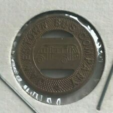 Jamestown North Dakota ND Jamestown Bus Company Transportation Token