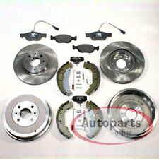 Fiat Palio Bremsscheiben Bremsen Bremstrommel Set für vorne hinten*