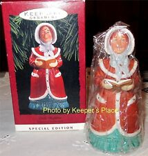 LADY DAPHNE Hallmark Ornament Dickens Caroler Bell Special Edition New In Box