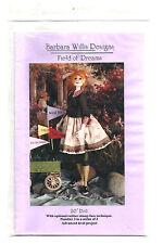 """20"""" Muñeca de tela patrón por Barbara Willis Diseños, campo de los sueños"""