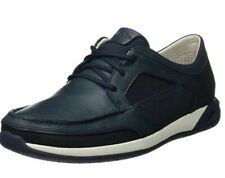CLARKS ORMAND SAIL MENS NAVY LEATHER MOCCASIN STYLE BOAT SHOES UK SIZE 10.5 G
