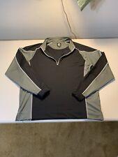 Men's Footjoy 1/4 Zip Sweatshirt Size L Multicolor