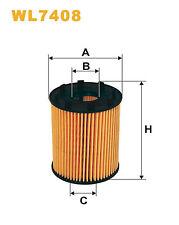 Wix WL7408 Car Oil Filter Eco Cartridge Replaces HU7131x CH9713 OX371D