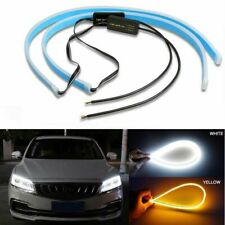 Soft Tube LED Strip Car Auto Daytime Running Light Turn Signal Lamps Accessories