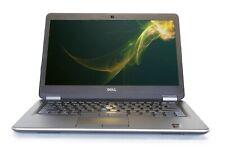 """C Grade Dell Latitude E7440 14"""" Intel i5 8 GB RAM 500 GB HDD Win 10 WiFi Laptop"""