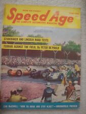 1952 SPEED AGE  AUTOMOBILE mag. INDIANAPOLIS. STUDEBAKER.LINCOLN.BARNEY OLDFIELD